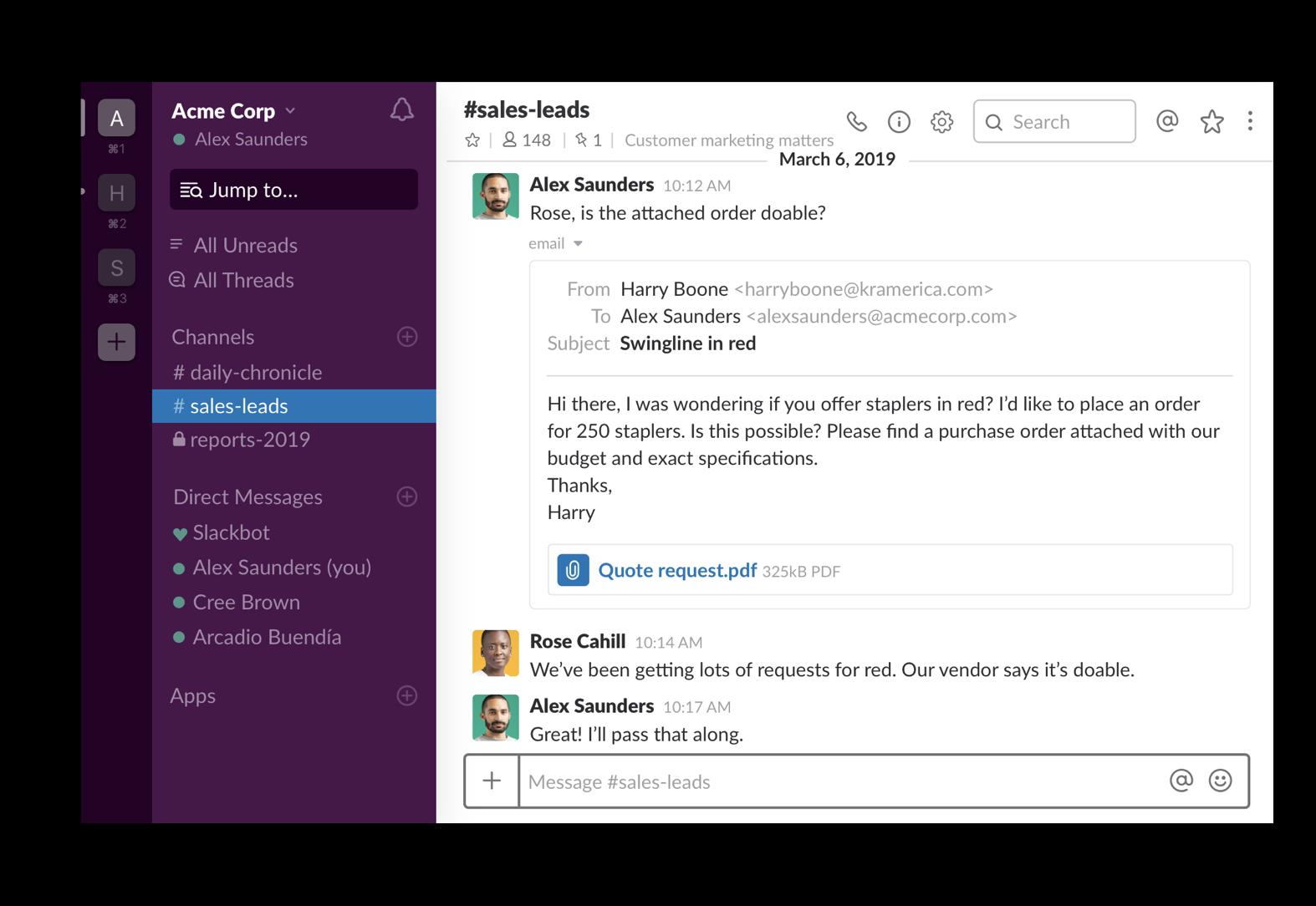 Send email to Slack | Slack Tips | Slack