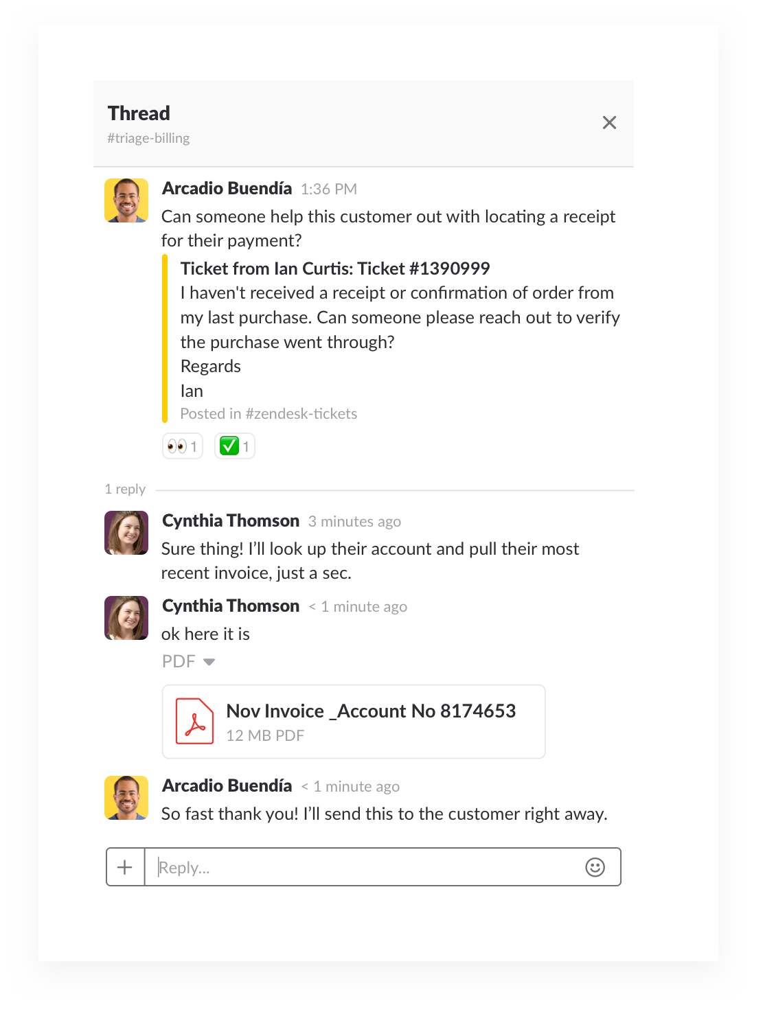 finding solutions to customer support issues