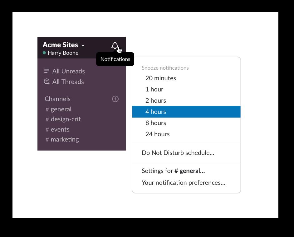 Let your team know your working hours | Slack Tips | Slack