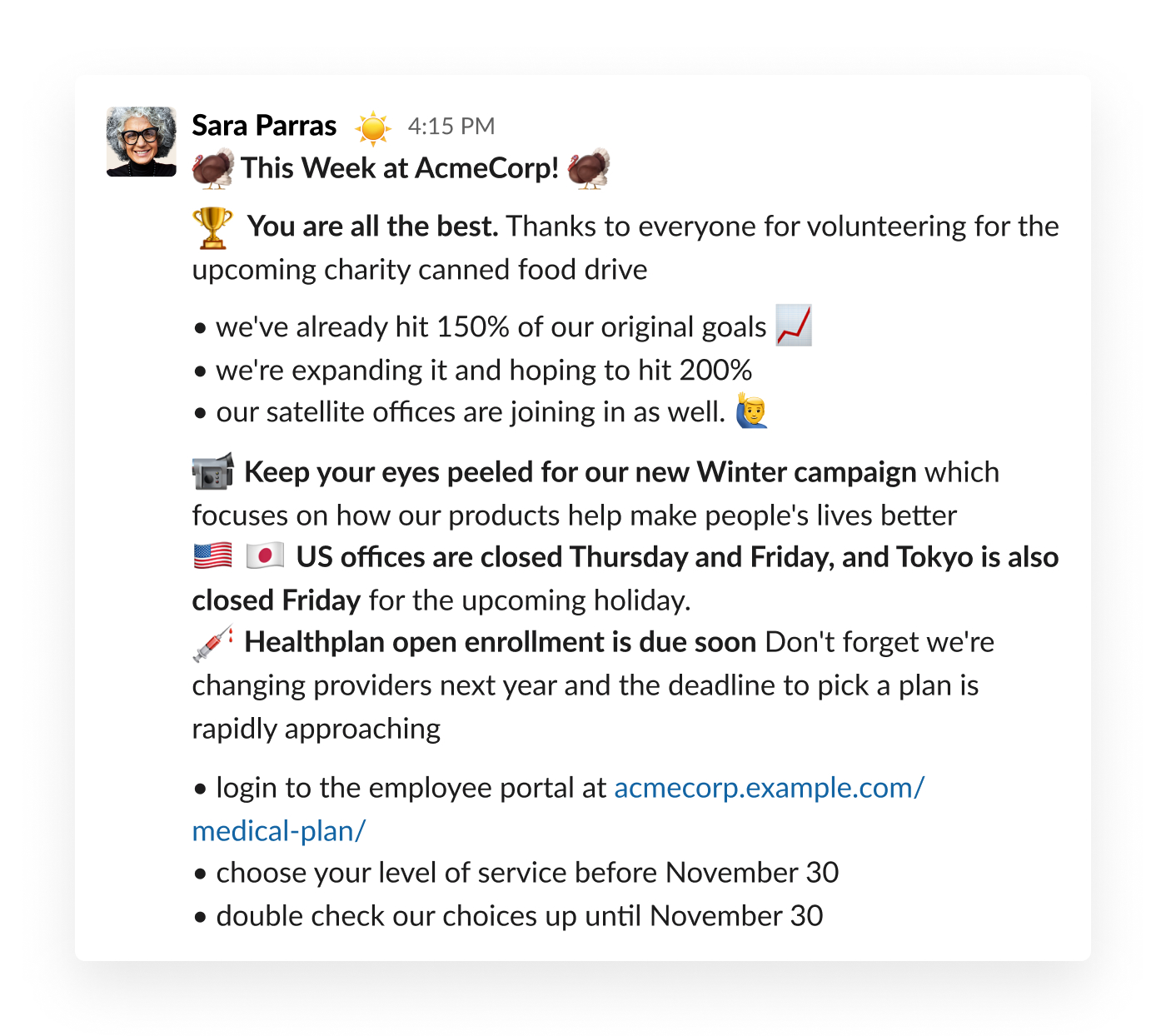 Approve And Send Company Wide Announcements Slack Tips Slack