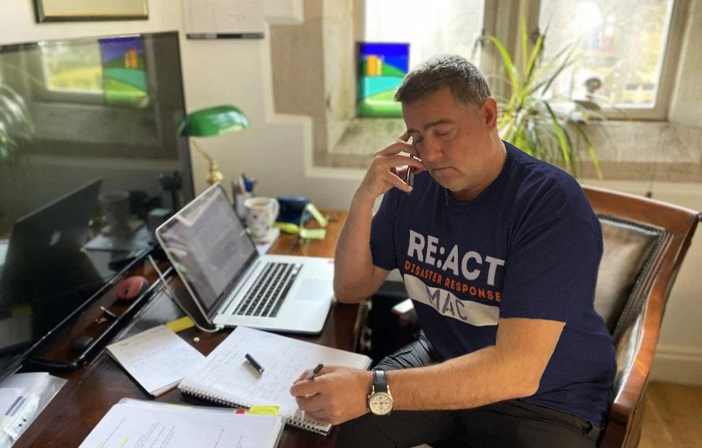 RE:ACT disaster response Slack
