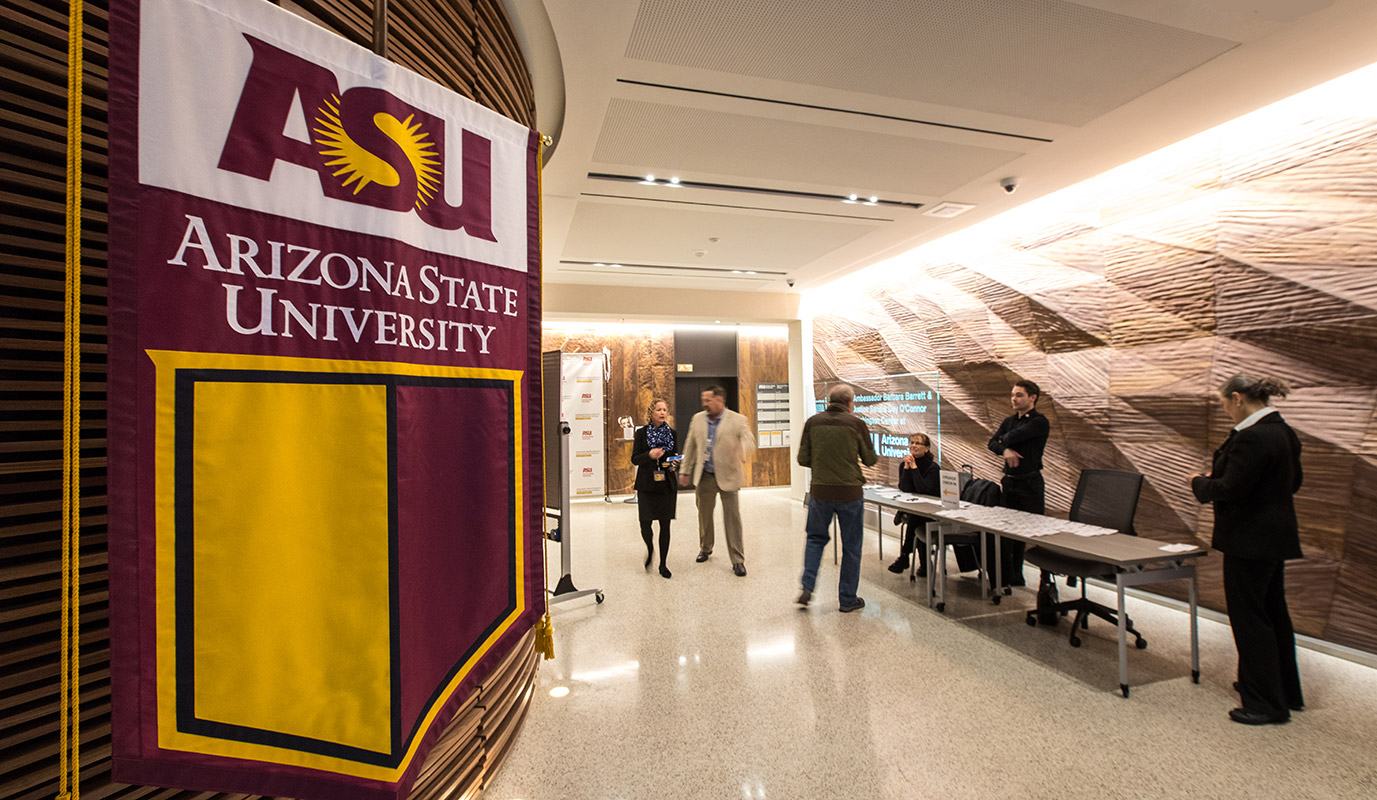 A campus photo of Arizona State University