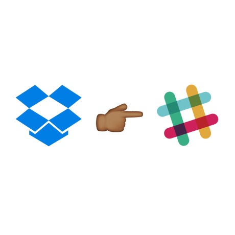 dropbox and slack