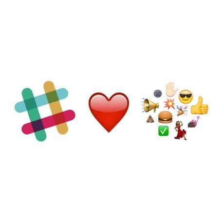 slack loves emojis