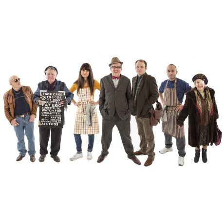 line of characters