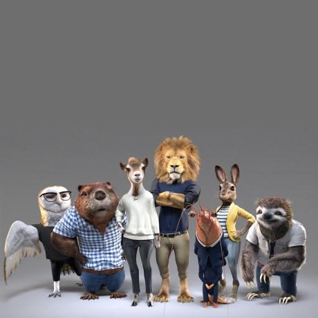 animal ads