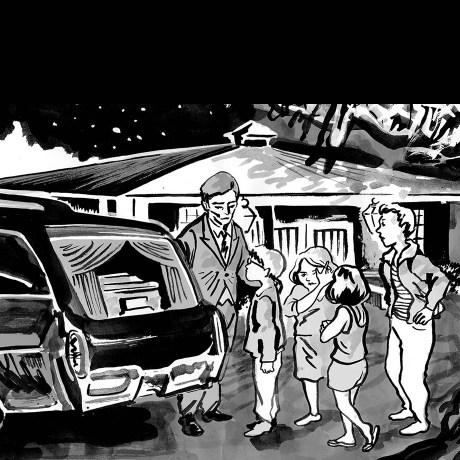 undertaker's family