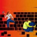 helping take down walls