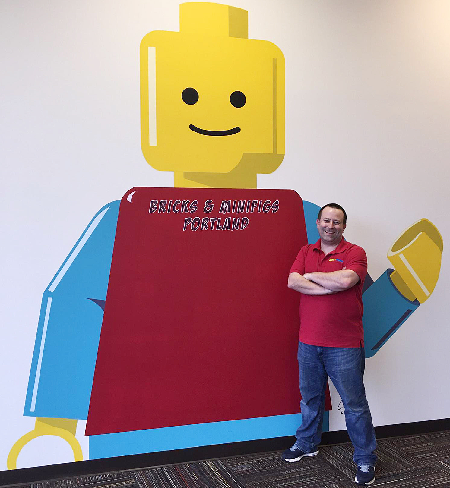 John Masek, CEO of Bricks and Minifigs