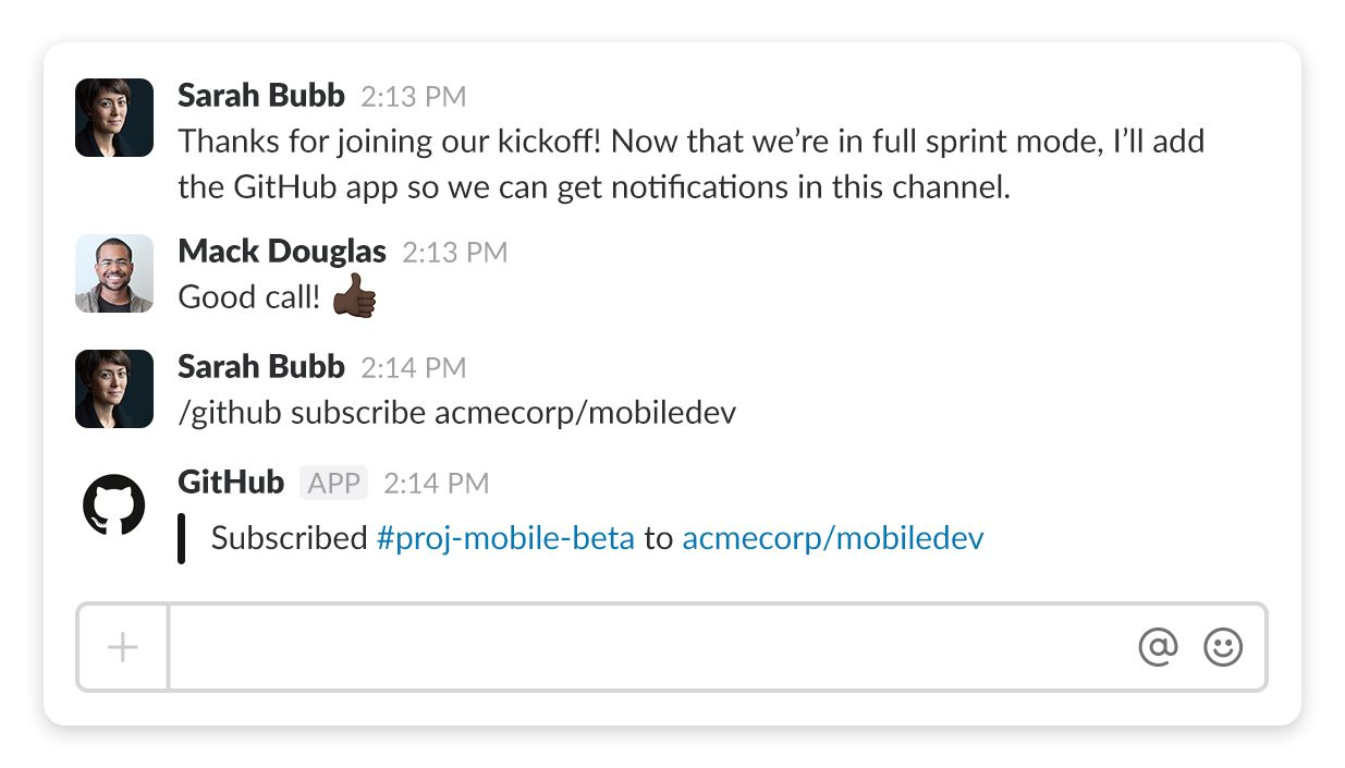 More Github Octocat in your Slack channels | The Official Slack Blog