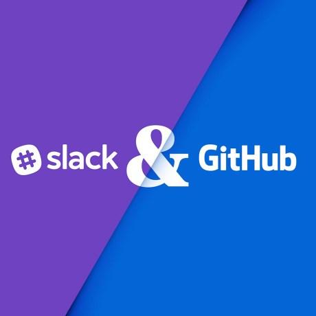 slack & github