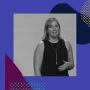 Molly Graham on stage at Slack's Frontiers conference