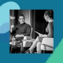 Stewart Butterfield speaking at the 2018 Wharton People Analytics conference