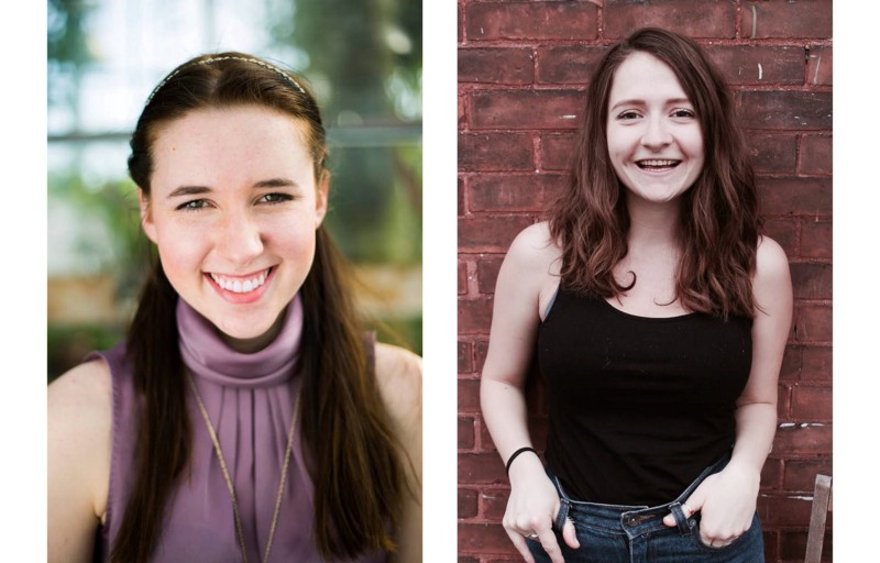 Madison Lymer and Mariah Horner of SpiderWebShow's 'The Revolutions'