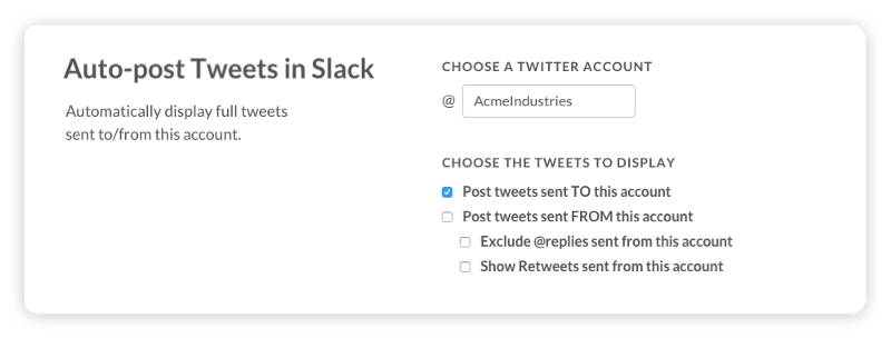 auto-post tweets