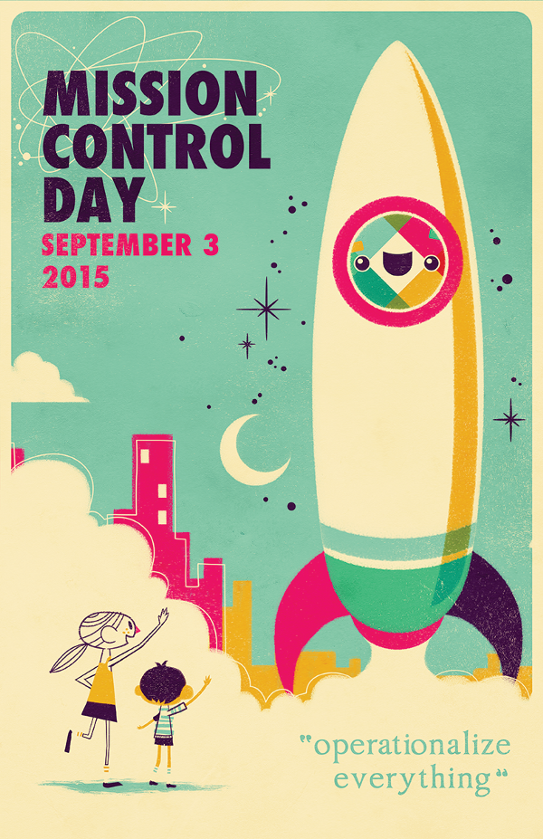 2015 Mission Control Day poster