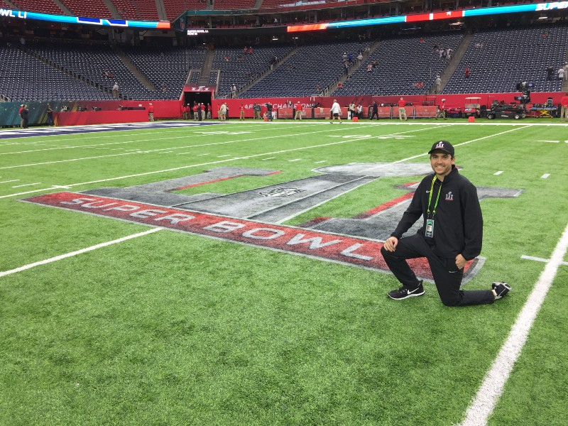 McLaughlin at NRG Stadium in Houston Texas during Super Bowl LI