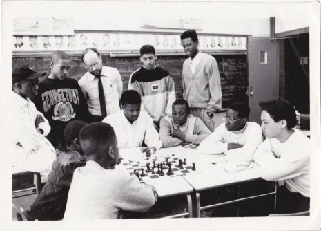 childrens chess team