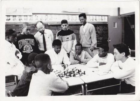 childrens chess team