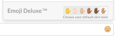 emoji skin tones