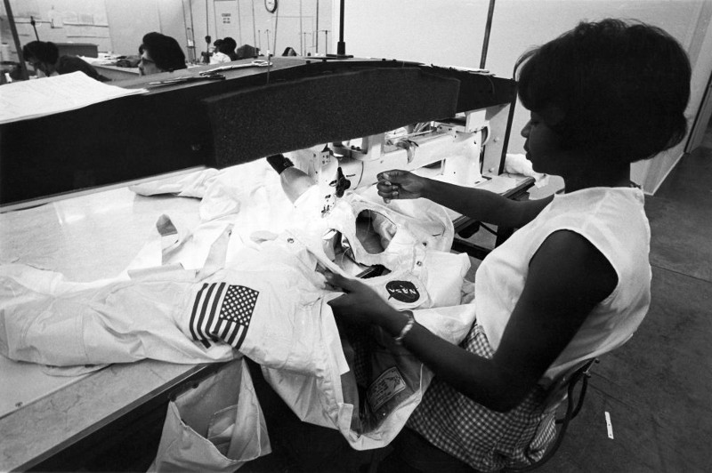 Seamstress Hazel Fellows