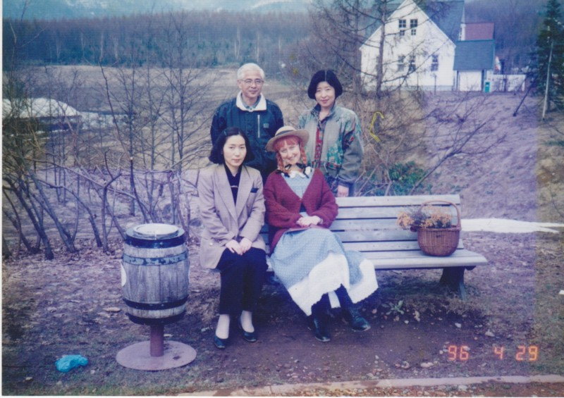 Visitors at Canadian World