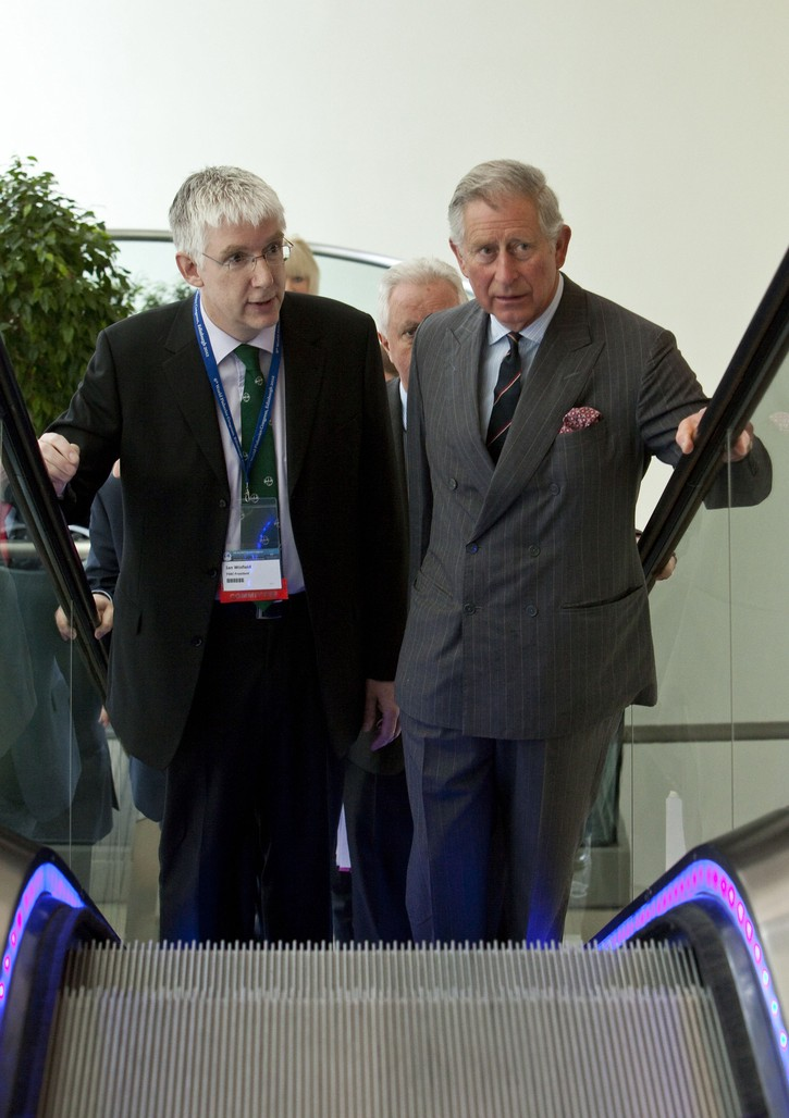 Winfield and Prince Charles