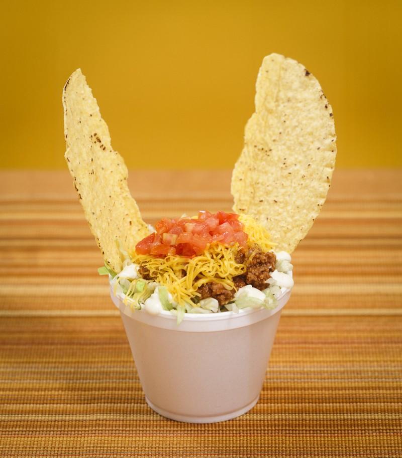 taco salad cup