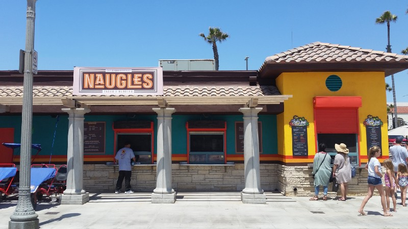 Naugles location in Huntington Beach