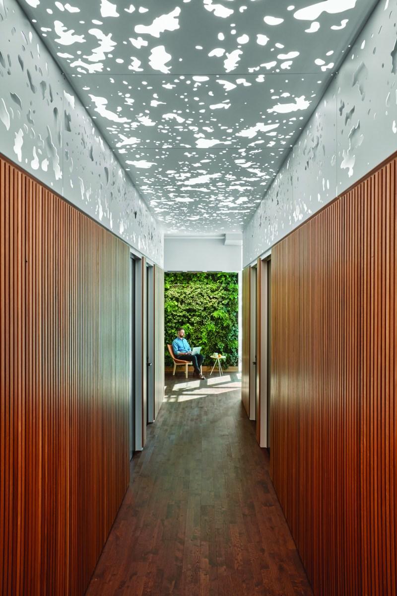 Slack hallway image
