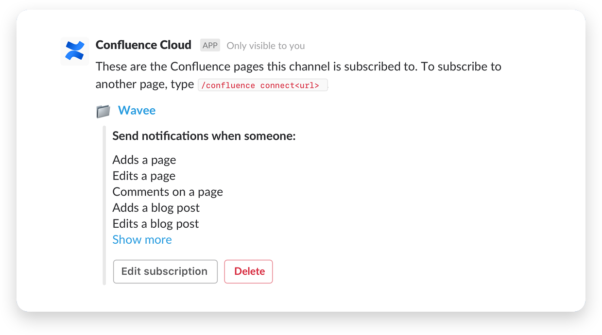 Confluence Cloud screenshot
