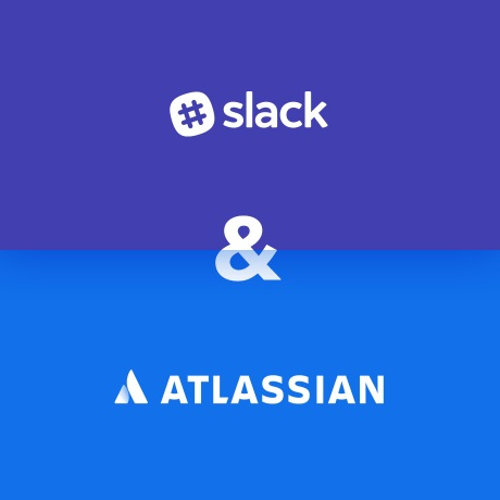 Slack and Atlassian collaboration image with company logos