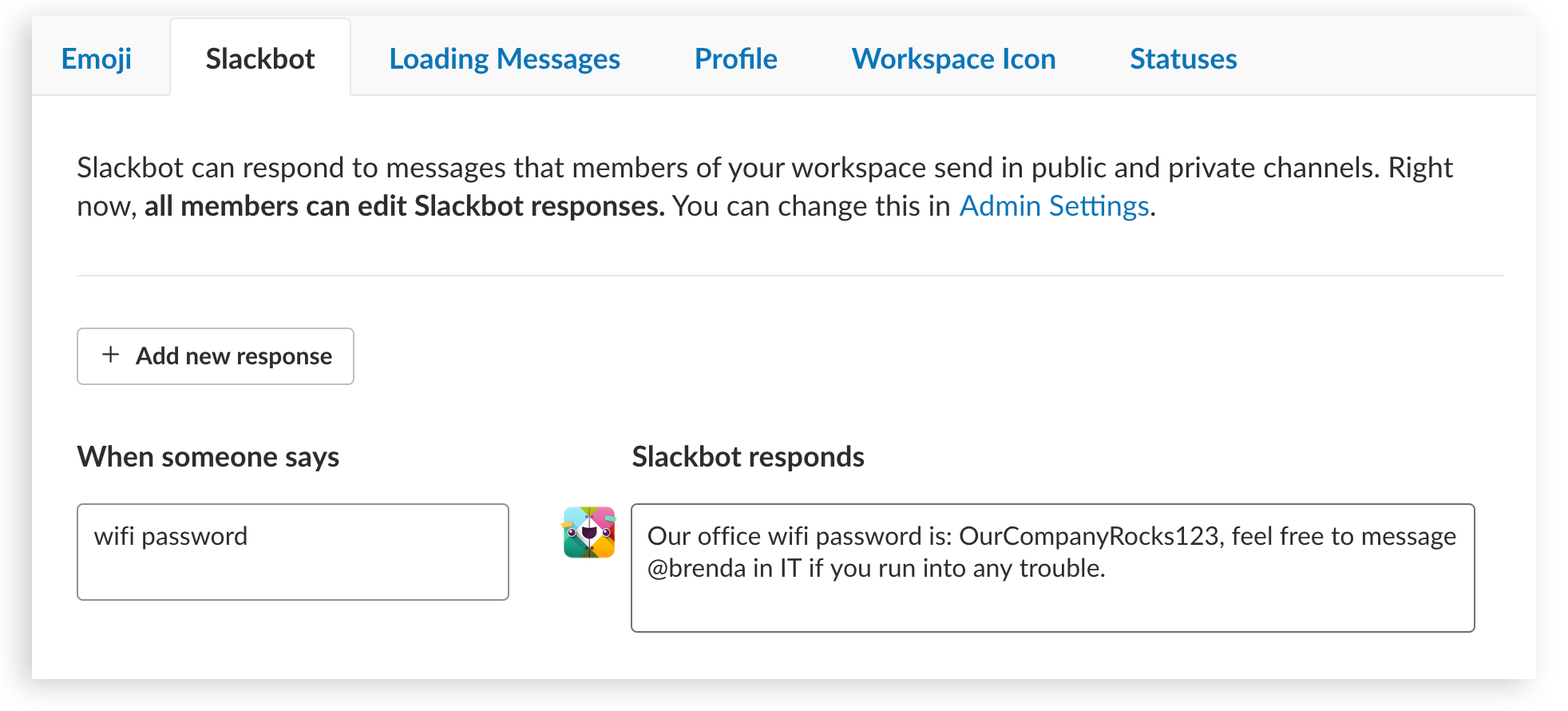Mind the bot: a guide to Slackbot custom responses | The