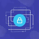 A graphic of a lock securing systems and data. A sign that Slack Enterprise Key Management is now available for customers of Slack Enterprise Grid