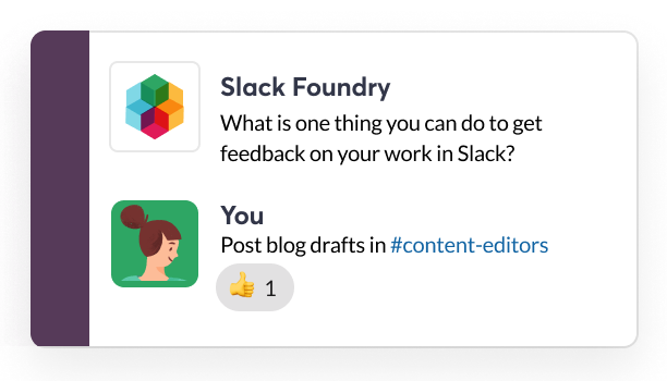 Introducing Slack Foundry: a bot that teaches the basics of Slack