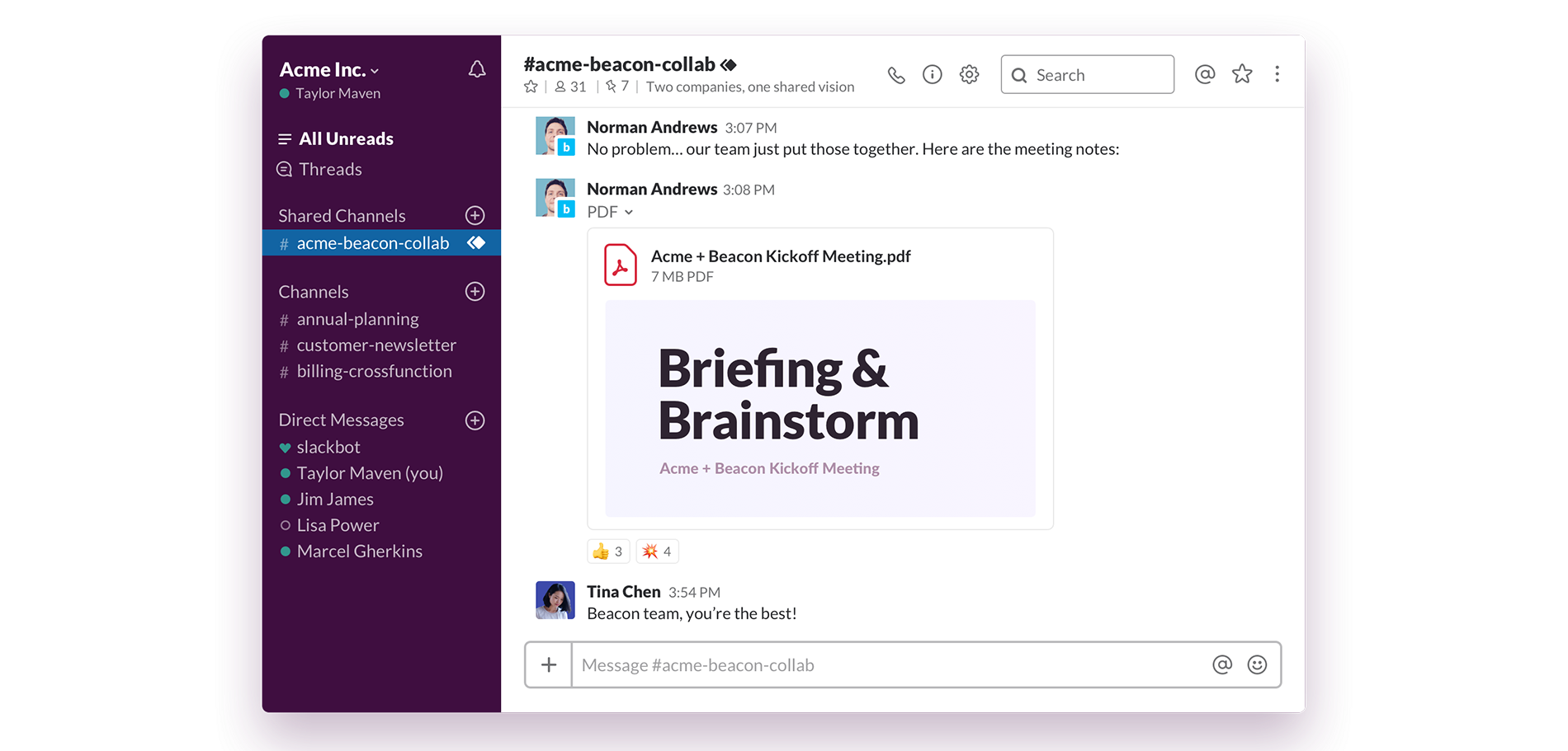 Slack's Shared Channels beta is coming to customers on Enterprise Grid this summer.