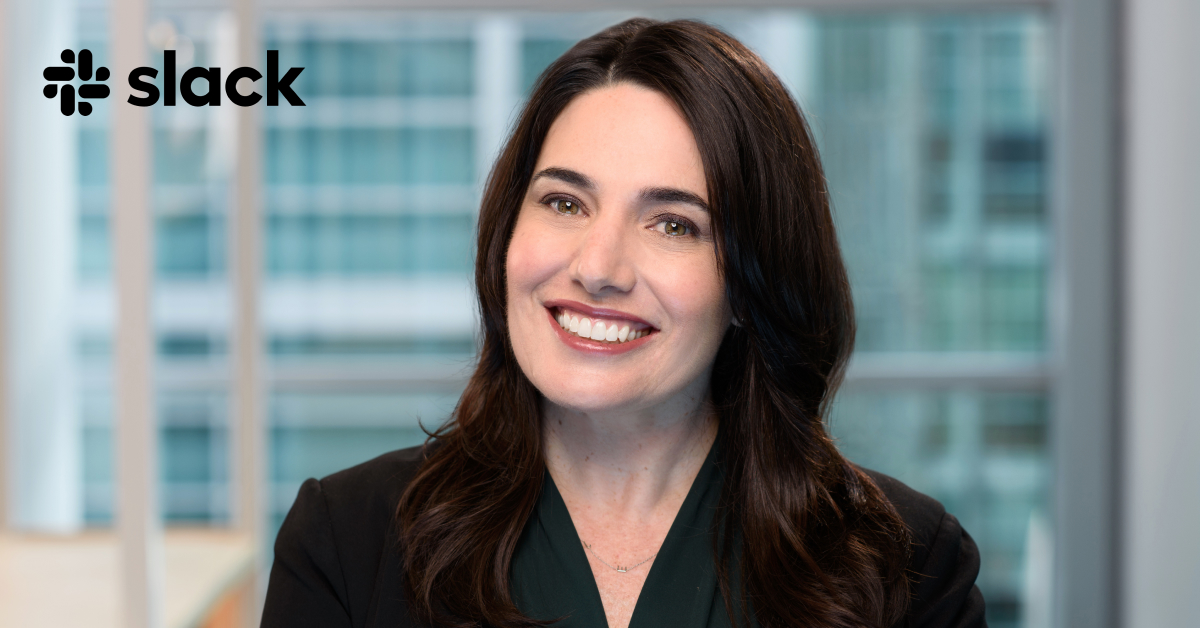 Slack welcomes Julie Liegl as Chief Marketing Officer