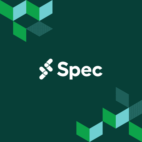 Spec logo on a green background: Spec is Slack's conference for developers.