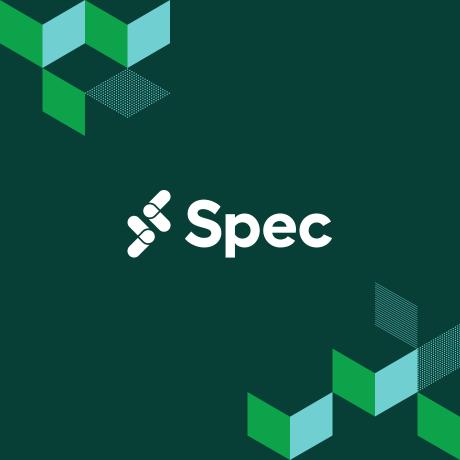 Spec logo on a green background: Spec is Slack's conference for developers.