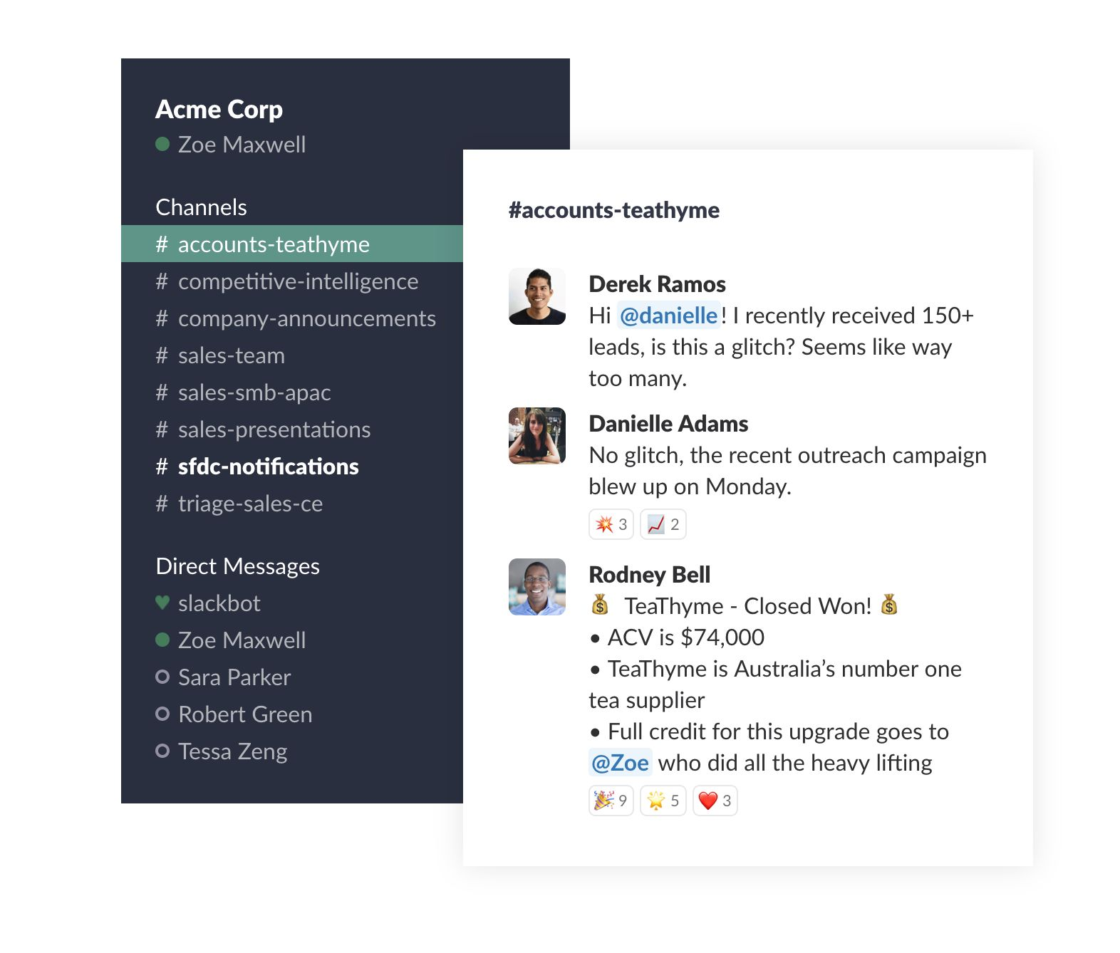 Slack on Slack: How channels power our sales team | The Official