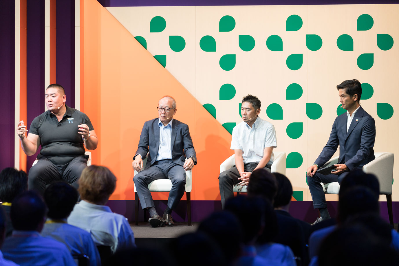 Speakers from companies in Japan share how they use Slack at the Frontiers Tokyo conference