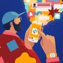 Scrolling back on Slack's mobile app to find your place
