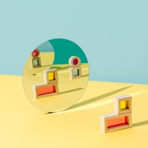 A photo illustration by Slack to accompany piece on remote work