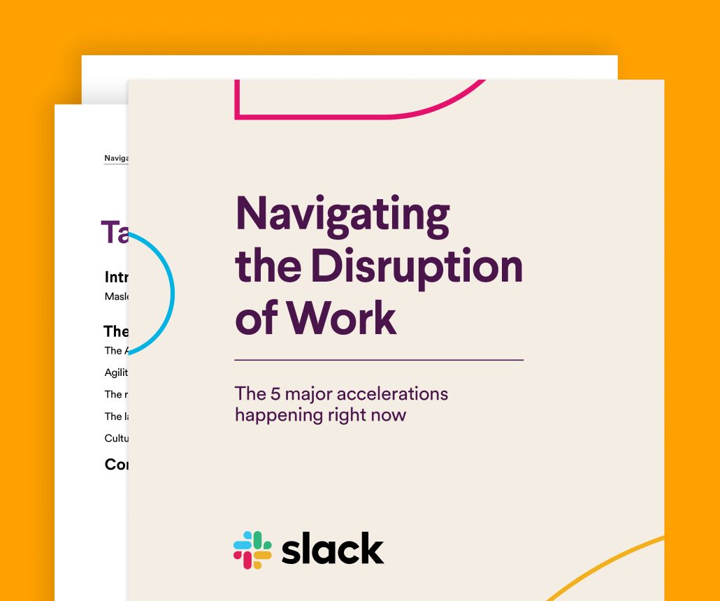 New guide: Navigating the disruption of work