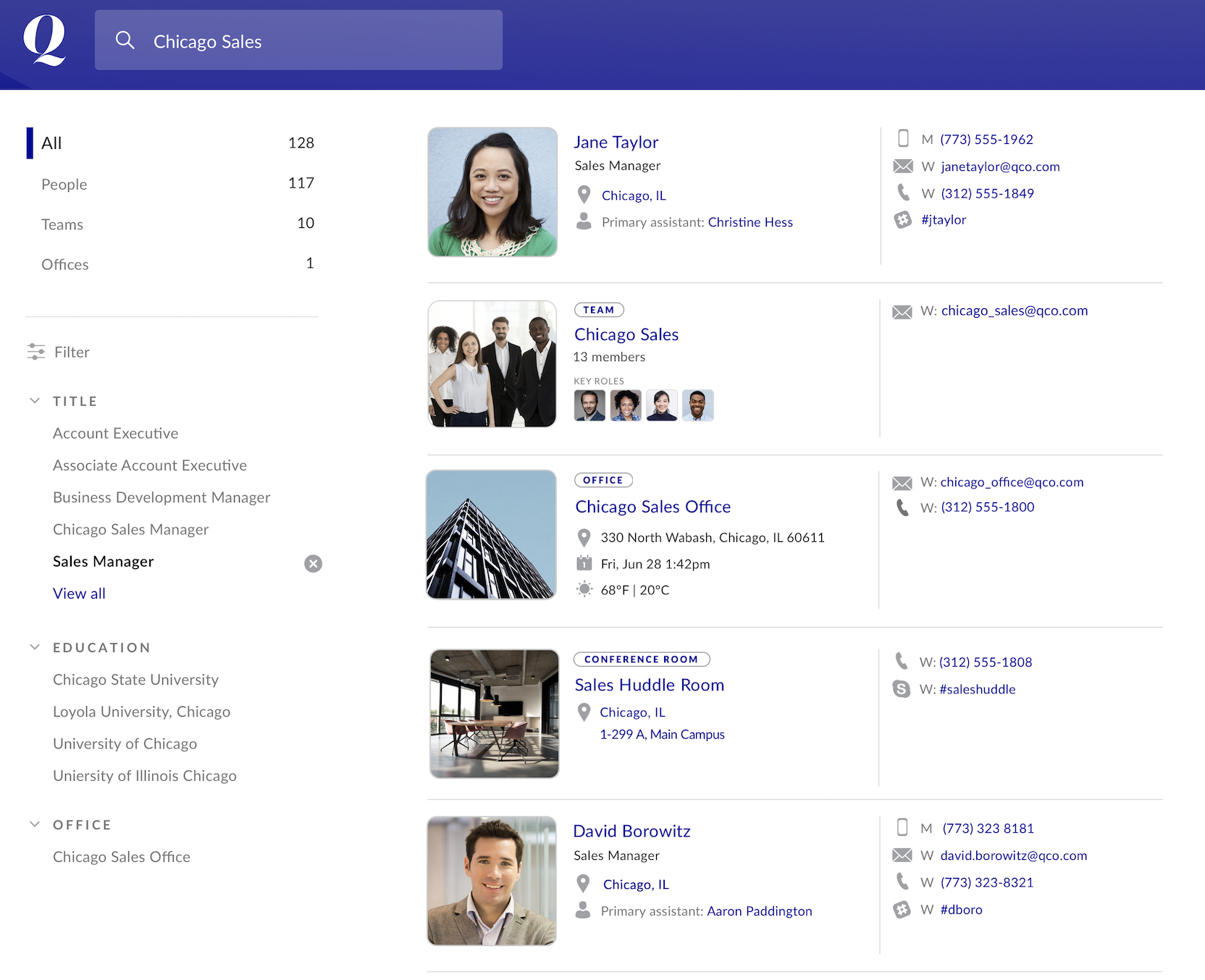 Reimagining the Company Directory
