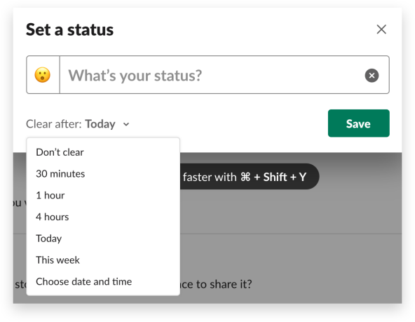 Set, sync and share: all the ways to update your Slack