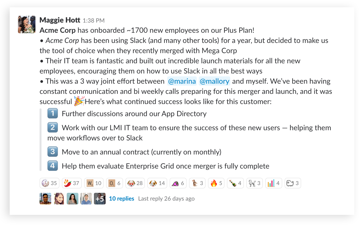 Designing and formatting messages in Slack | The Official